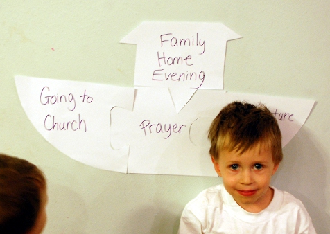 Thou Shalt Construct a FAMILY