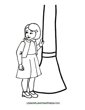 Lucy Pevensie Narnia Coloring Page