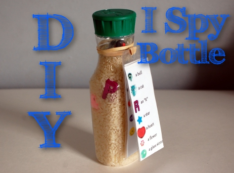 DIY I Spy Bottle