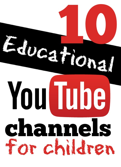 10 Educational Youtube Channels for Children
