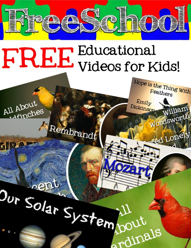 FreeSchool - free educational videos for children!